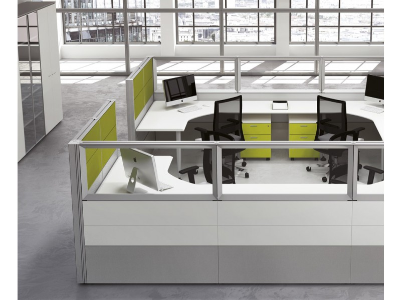 format office maker modulare empfangstresen mit schallschutz. Black Bedroom Furniture Sets. Home Design Ideas