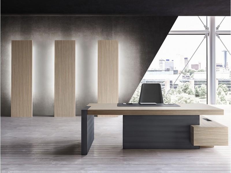 Möbel esche grau möbel : ... indirekt LED beleuchtet, Tischgestell Leder, Holzfarbe Ulme grau
