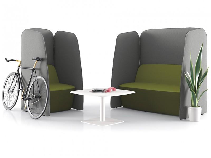 L-1 - Design Lounge Sofa & Sessel mit Lärm- und ...