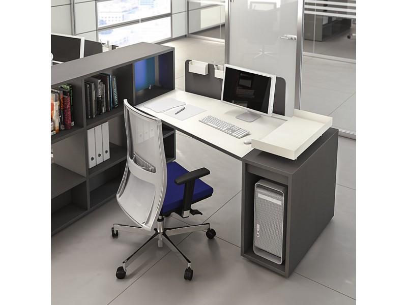 Schreibtisch büro modern  LOGIC - modular und kompaktes Schreibtisch - System, Arbeitsplatz ...