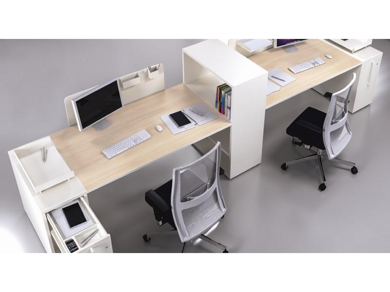 Logic modular und kompaktes schreibtisch system for Schreibtisch viel stauraum