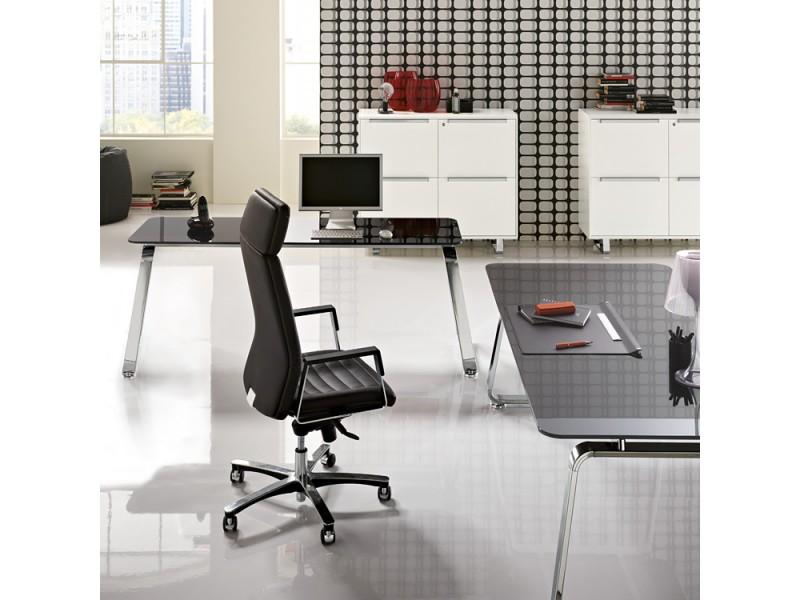 Eckschreibtisch design  Retro Design Schreibtisch, Retro Chef Büro Möbel - Seventies