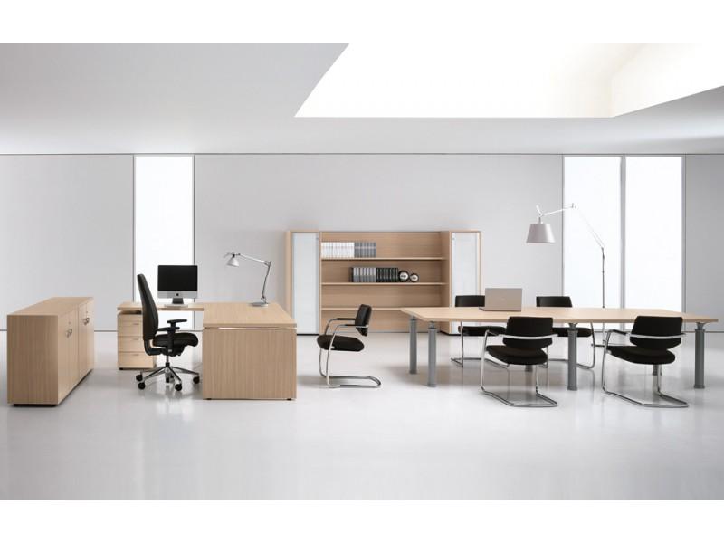 Designer Glas- Schreibtisch, Chef Möbel - STUDIO