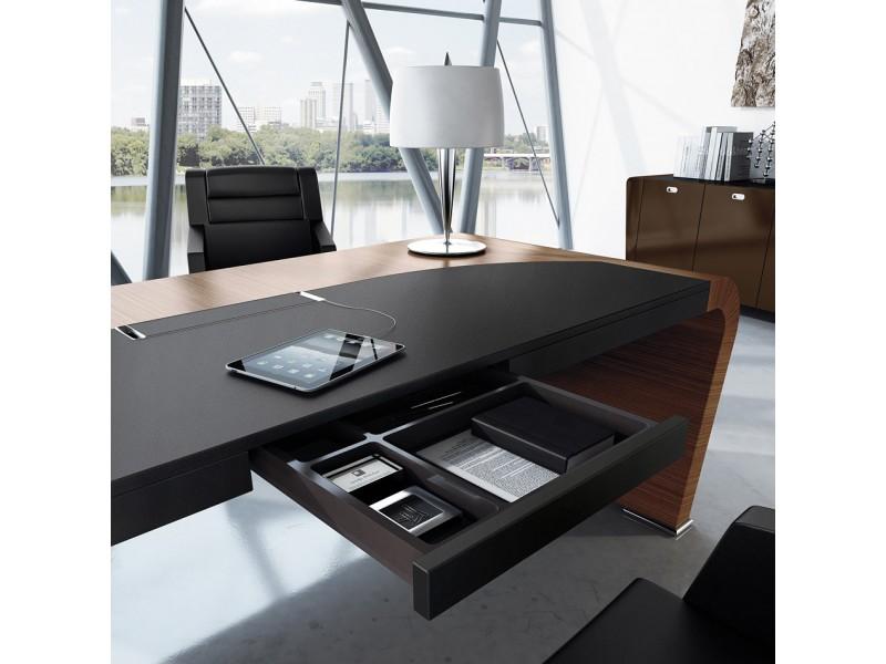 Elegant stilvoller designer schreibtisch vanity design for Schreibtisch chef