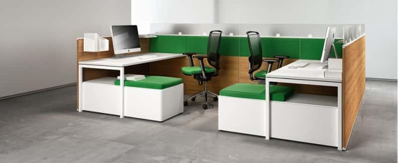 Akustik Büromöbel mit Schallschutz für Großraumbüro