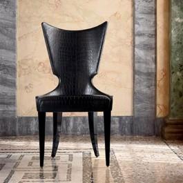 Artú  01 exklusiver Design Besucherstuhl, bequemer Esszimmerstuhl, indiviuell handgefertigt