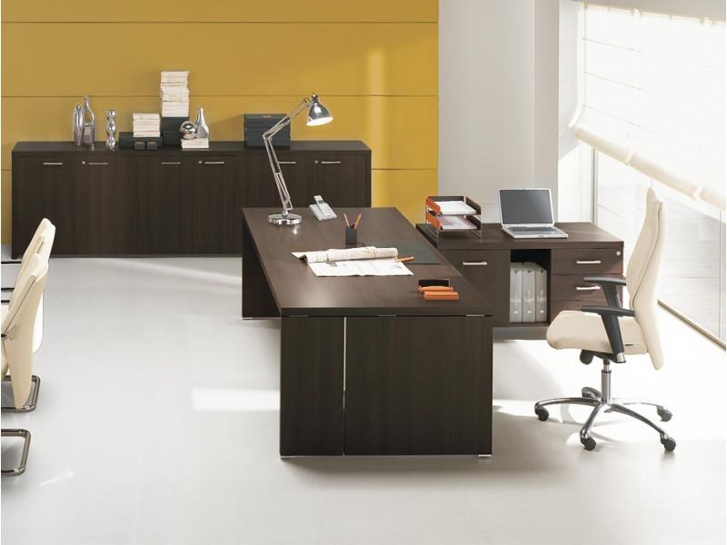 DELTA EVO - Chef Schreibtisch, Büro Möbel