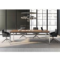 exklusiv Design-Konferenztisch, Meetingtisch für Besprechungsraum, in Ulme Dekor
