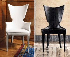 Artú Besucher-, Esszimmer-Stuhl, liebevoll handgefertigt