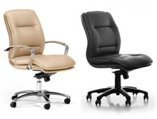 d-5 klassischer Bürostuhl mit und ohne Armlehnen erhältlich