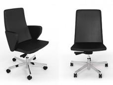 d-1 Designer Konferenz, Besucher-Sessel, niedrige Lehne, Bürostuhl
