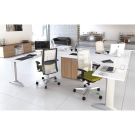 5th-Element 23 Büro Arbeitsplatz, Insel-Schreibtisch Konzept