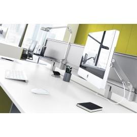 5th-Element 33 Details innovatiever Schreibtischeinteilung, zentraler Multifunktions Komponentenhalter, Monitoraufnahme, Team-Arbeitsplatz
