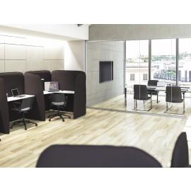 5th-Element 06 Akustik-Möbel, Designer Sound-Paneel mit Schreibtischfläche