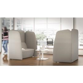 5th-Element 39 Akustik Lounge Sofa, Schallschutz Möbel, Designer Ruhezone Schreibtisch