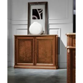 art&moble  18  Sideboard, klassisches Buffet  mit Wurzelholz, Schrank