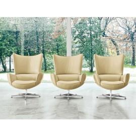 Buenavista  07 elegant luxuriöser Büro-Sessel, von Hand gefertigt, sehr bequemer Wellness Stuhl