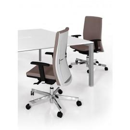 d-2 03 Design Bürostuhl, Drehstuhl mit niedrige Rückenlehne, Armlehnen verstellbar