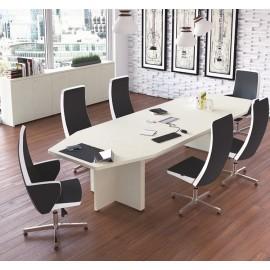 DELTA_EVO 09 Besprechungstisch, Meeting-Tisch in Nussbaum oder Wenge erhältlich