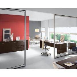 DELTA EVO 11 Chefzimmer Schreibtisch in Nussbaum oder Wenge, hochwertig, preiswert