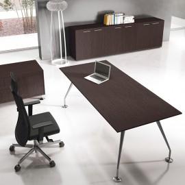 Enosi Evo 10 Chefbüro Schreibtisch mit Sideboard und Servicecontainer