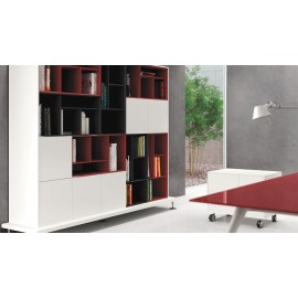 Enosi Evo 12 Design-Regal, Büro Schrank