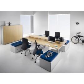 Fly 04 ergonomische Team-Arbeitsplatz Büro Möbel in Top Qualität