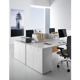 Fly 10 Schreibtisch mit integriertem Stauraum, optimierte Büro Möbel