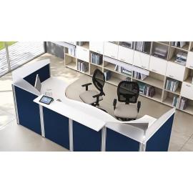 Format 11 Büro Empfang- Rezeptionsbereich, Sichtschutz, Schallschutz