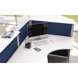 Format 02 Details Büro Empfang- Rezeptionsbereich mit Sichtschutz und Akustikschutz