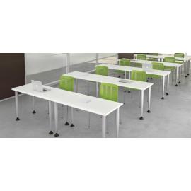 Format 25 Schulungs-Tisch, Büro-Schreibtische, flexibel, kompakt