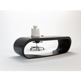 Goggle 11 Büro Chefschreibtisch im modernem Design schwarz