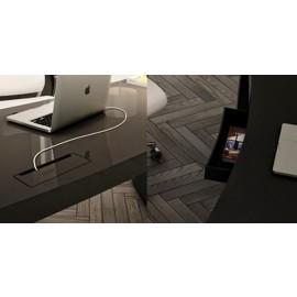 Goggle 18 Details zu Schreibtisch Kabeldurchlass, Schublade, Chefbüro