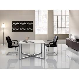 I-MEET 03 exklusiver Chefzimmer-meetingtisch, Elektrifizierung, Kabelklappe