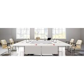 I-MEET 10 hochwertiger Konferenztisch individuell anpassbar