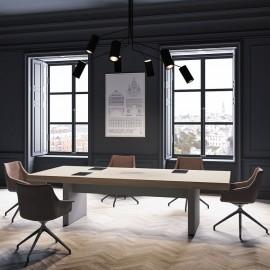 20 elegant stilvoller Design Konferenztisch, Meeting Tisch, Chefbüro Konferenzstühle -JERA