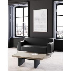 JERA 34 Design Bürosofa, Loungesofa und passende Ledersessel