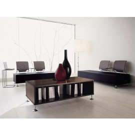 l-7 05 Lounge Tisch, Einrichtung für den Wartebereich, Sofa-Dreisitzer, Lounge-Sofa, Tisch, Couchtisch