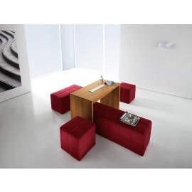 Manatta 04 Steharbeitsplatz-Schreibtisch, entspannt arbeiten, relax, chill-out Area
