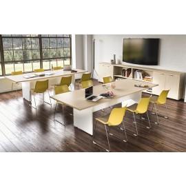 OXI 01Konferenz, Besprechungstisch, Pausenraum, Meetingtisch, zweifarbig