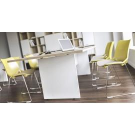 OXI 02 großer Konferenz, Meetingtisch zweifarbig, preiswert