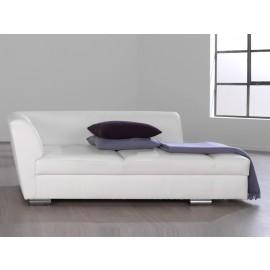 s-9 08 Design Leder in weiß oder Stoffbezug erhältlich, Büro-Chaiselongue, Relax Liege, Couch, Kanapee, mit bequemen sitzkomfort für den Wartebereich