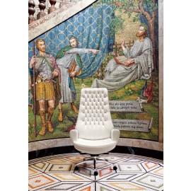 San Giorgio  05 exklusiver handgefertigter Büro Sessel
