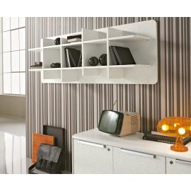 Seventies 16 Büro Wandregal, Regal im Retro-Design