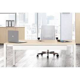 UP 08 Büro Schreibtisch, höhenverstellbar mechanisch von 65-85cm, modernes Design