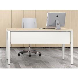 UP 09 Büro-Schreibtisch, Tischbeine höhenverstellbar, mechanisch von 65-85cm, optimiertes Design