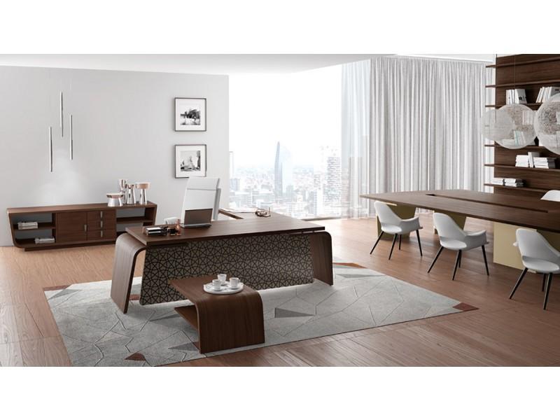 Bueromoebel design  stilvoller Design Schreibtisch - Larus -, Tischgestell mit ...