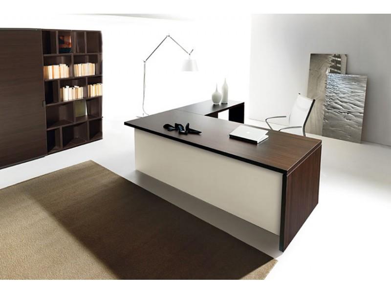 Schreibtisch modern polarisierendes design lithos for Moderner schreibtisch design