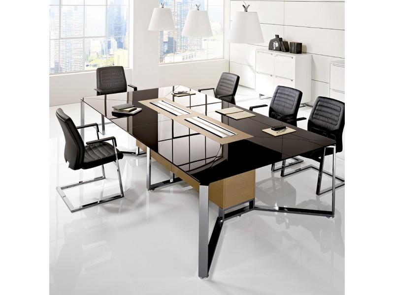 Design Konferenz Möbel, hochwertige Glastische oder
