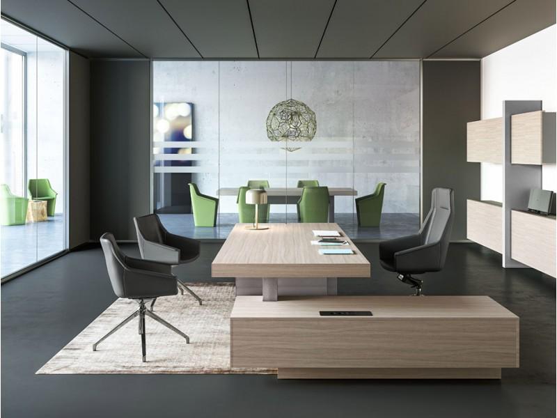 elegant kunstvoller Design Konferenztisch, einzigartiger Chic ...